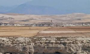 Estado actual de la Hoya de Baza con sedimentos producto de la evaporación del lago. / IPHES