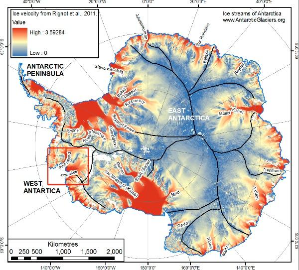 Antártida.glaciares