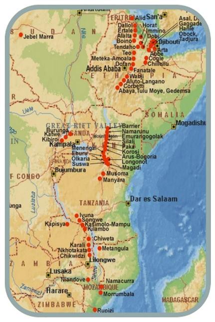 AfricaValle del Rift