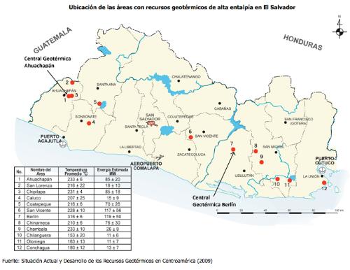 Geotermia.El Salvador.
