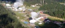 Generación por geotermia en América Latina y el Caribe