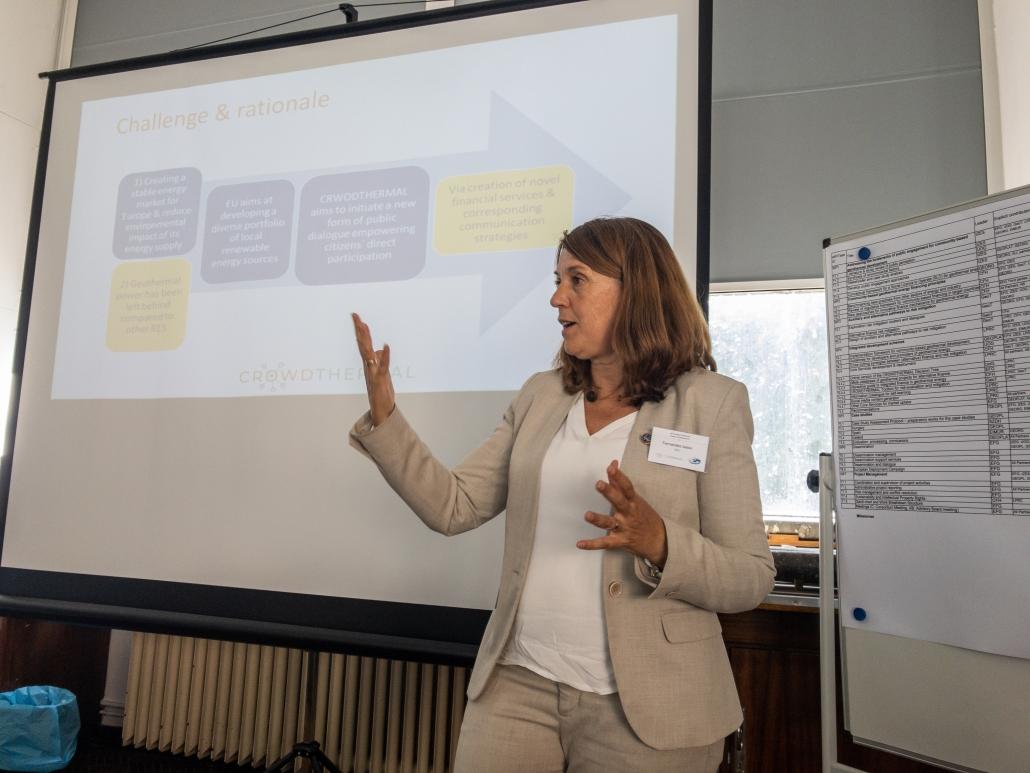 La geóloga Isabel Fernández Fuentes, directora de CrowdThermal